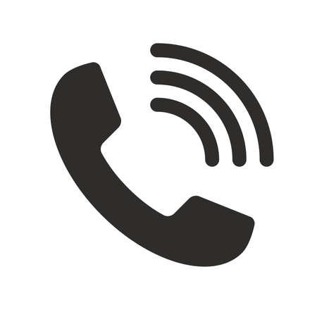 Flat Phone icon Ilustracja