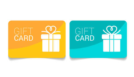 Loyalty card, incentive gift, collect bonus, earn reward, redeem gift, win present, vector mono line icon, linear illustration, outline design