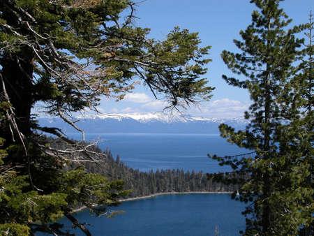 Overlook at Lake Tahoe photo