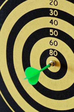 bar magnet: magnetic darts game target closeup shot Stock Photo
