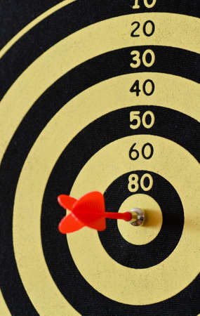 bar magnet: magnetic darts game trget closeup shot Stock Photo