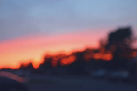 abstract: Abstract sunset
