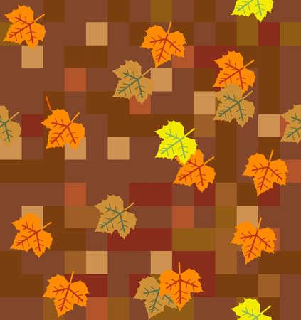 herfstbladeren patroon