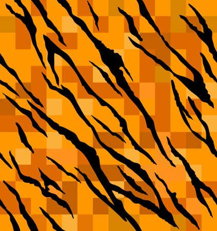 tiger skin pattern pixel art