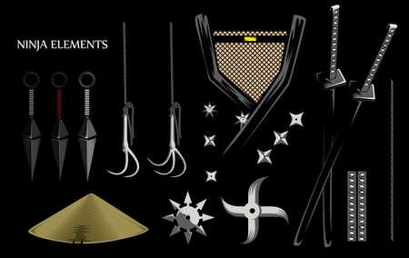 weapons: ninja weapons