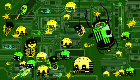dangerous: computer virus