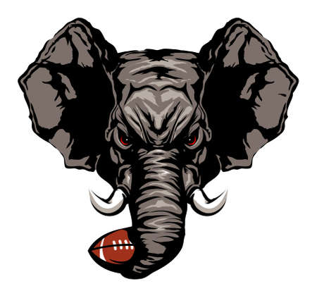 jersey: elephant american football