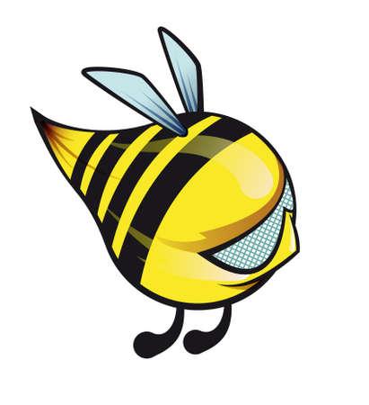 character bee- bumblebee