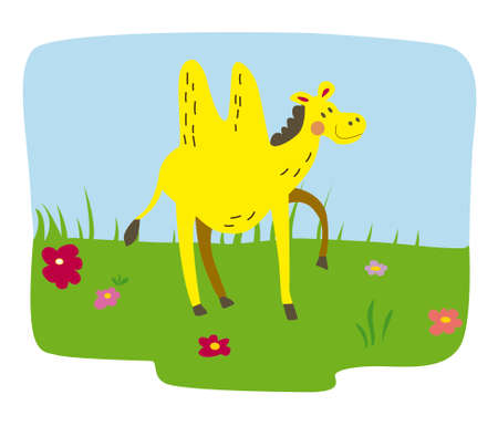 dromedary: camel for children