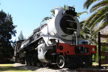 Vintage Class 19D Locomotive or Steam Engine from 1942 photo