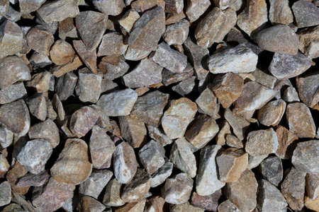 building industry: Graded crushed stone for the building industry