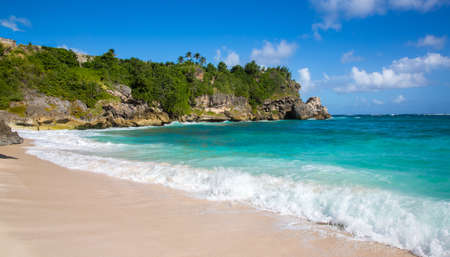 Beautiful coastline at Foul Bay on the east side of Barbados