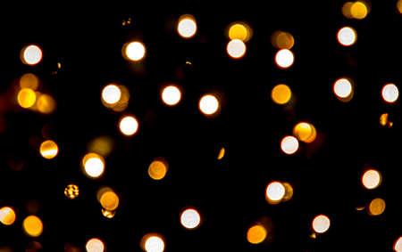 Bokeh effect of colorful lights for festive season Reklamní fotografie