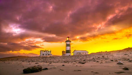 Lighthouse at Cape Recife, Port Elizabeth, South Africa