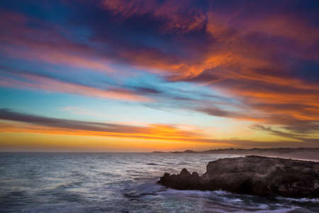 Beautiful sunset at the Coast in South Africa Reklamní fotografie