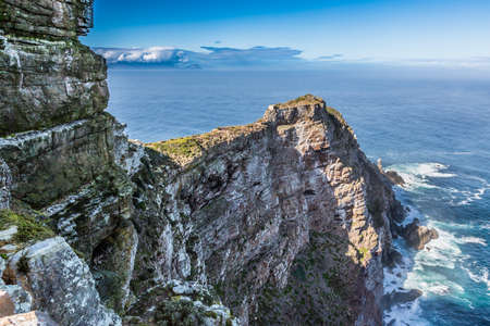 The magnificent Cape Point peninsula and ocean in South Africa Reklamní fotografie