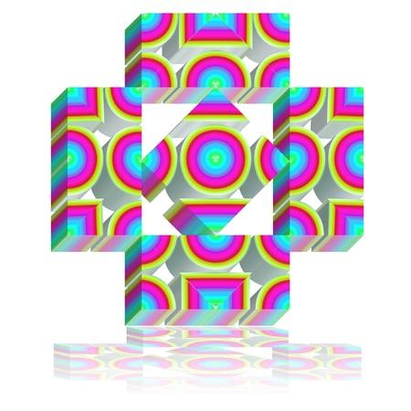 이 로고의 단순한 디자인은 스파와 미학, 화장품 산업 분야, 제과 용으로 적합합니다. 스톡 콘텐츠 - 65721401