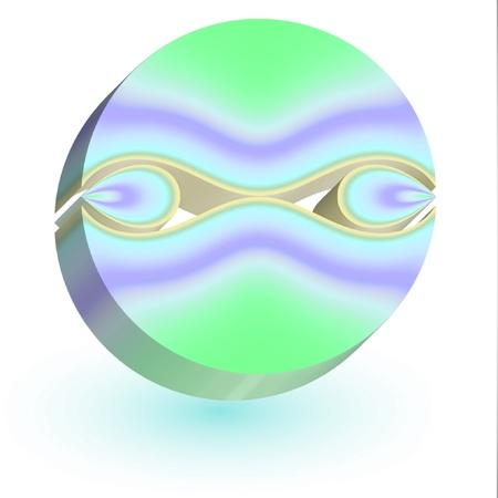 Cette conception simple d'un logo meilleur de tous est adapté pour Spa et l'esthétique, salon de beauté, bien-être et de thalassothérapie Logo