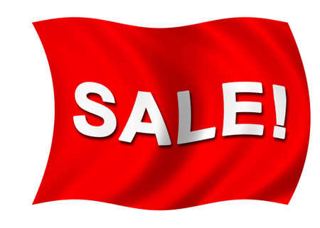 Sale flag Stock Photo - 864787