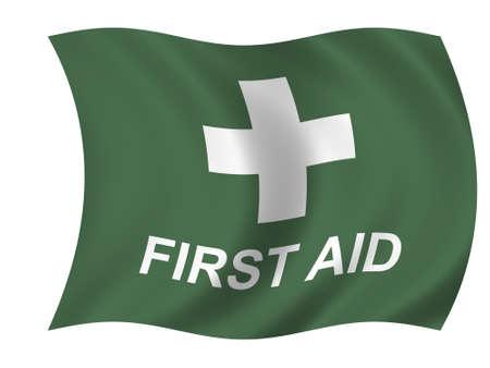 Healthcare flag Stock Photo - 919165
