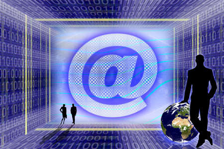 Global Information technology. E-mail concept Stock Photo - 954500