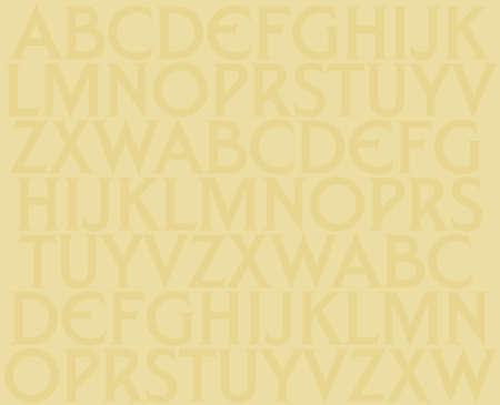 Alphabet background photo