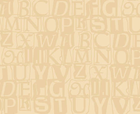 schoolchildren: Alphabet background Stock Photo