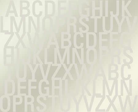 schooldays: Alphabet background Stock Photo