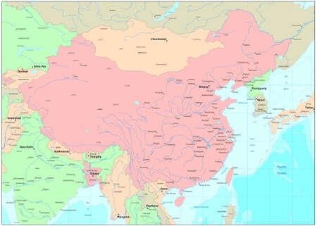 territorial: China map