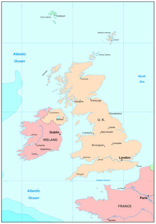 liverpool: United Kingdom map