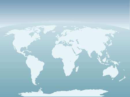 background antarctica: World map background