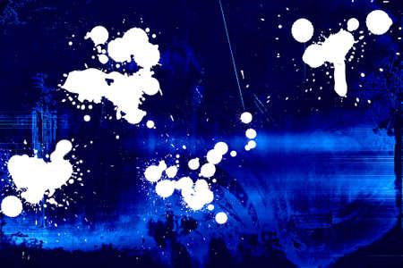 slur: Dark blue grungy background with white splodges