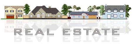 lease: Real estate: a street illustration