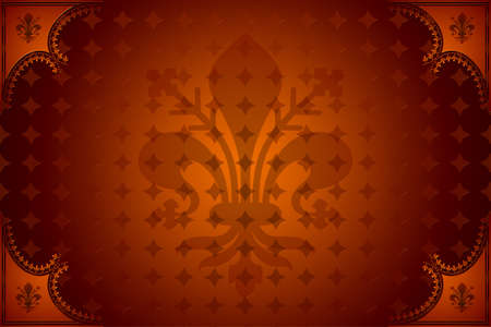 blazonry: Abstract dark red royal background Stock Photo