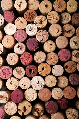 Des bouchons de vin de base Banque d'images
