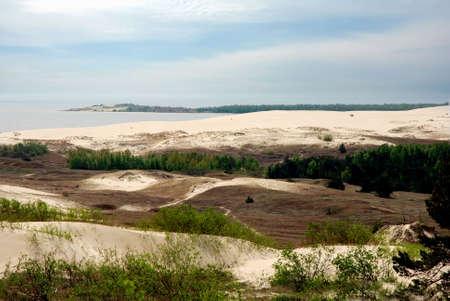 lithuania: Dune landscape at Kursiu Nerija National park, Lithuania