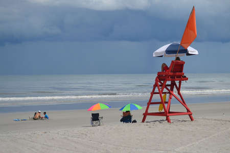 storm coming: Beach Day, Storm Coming- Prepare
