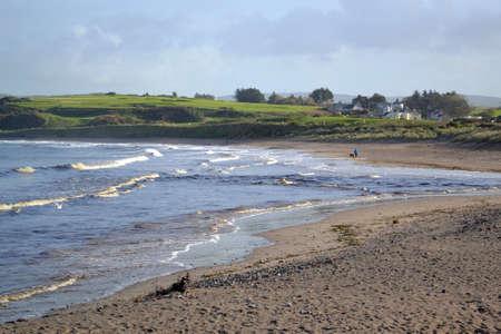 northern ireland: Beach In Northern Ireland