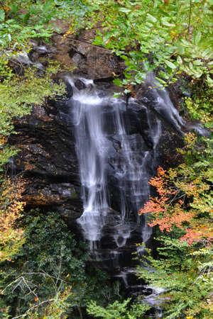 appalachian: Appalachian Waterfall-2 Stock Photo