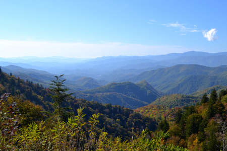 Appalachian Mountain Scene-02 Stock Photo