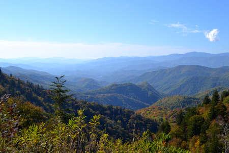 Escena-02 Appalachian Mountain Foto de archivo - 32870528