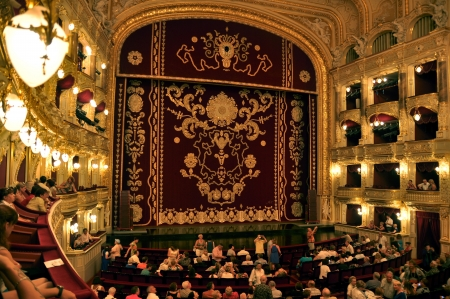 Odessa Opera Theater Inside