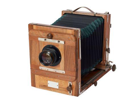 Vintage Sovjet mechanische, studio, groot formaat camera