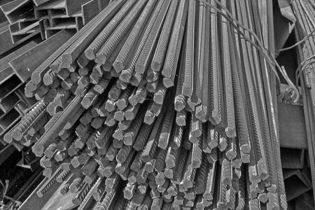 armature: Steel building armature           Stock Photo