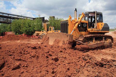 construction bulldozer photo