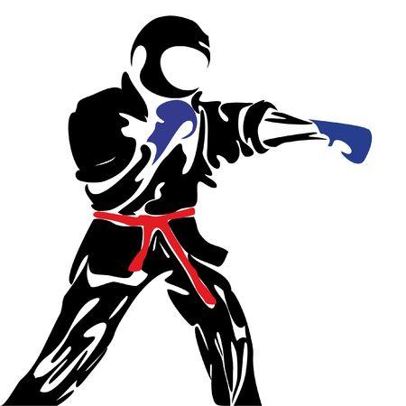 karate daidojuku kudo Фото со стока