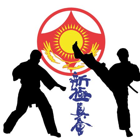 simbol karate kyokushinkai photo