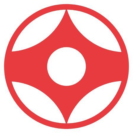 simbol 가라데 교 코신 카이
