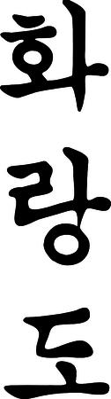 dojo: Fighting arts TAEKWONDO,TAEKWON-DO,TAEKWON DO.Korea. Illustration
