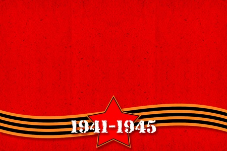 vintage background to day of the victory in Great Patriotic War, Second World War 9 may 1945